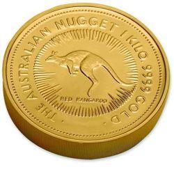 1 Kilo Australian Nugget Goldmünze Australien Nugget
