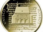 100 Euro Goldmünze UNESCO Welterbe Lorsch Bildseite