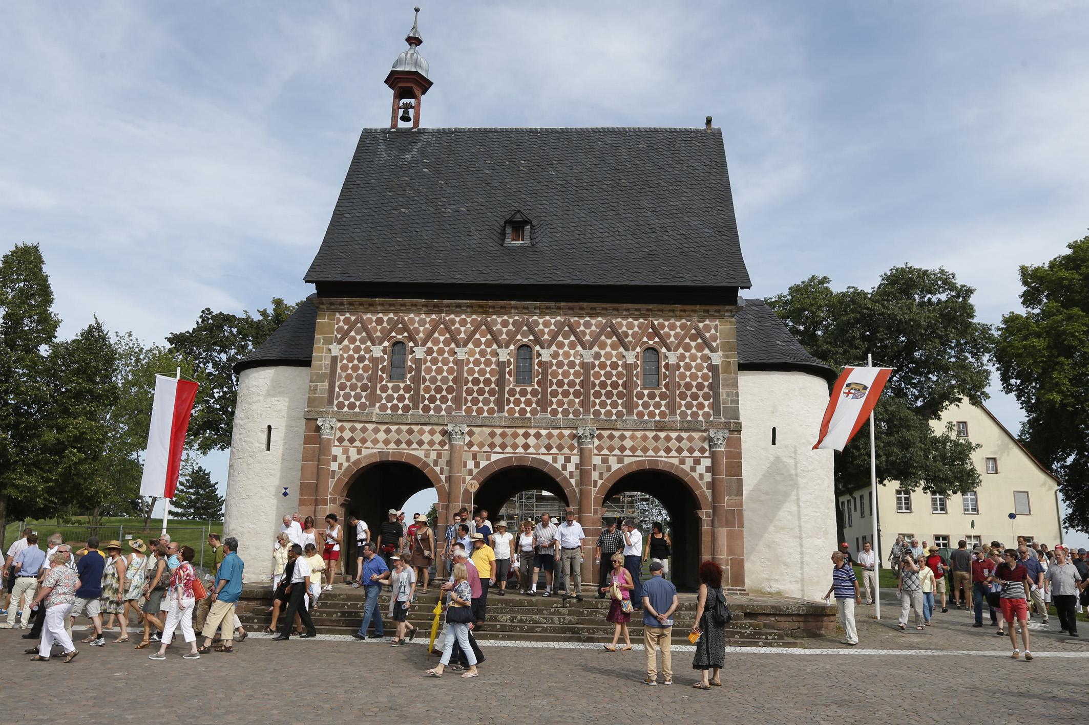 Kloster Lorsch 100 Euro Goldmünze Kloster Lorsch