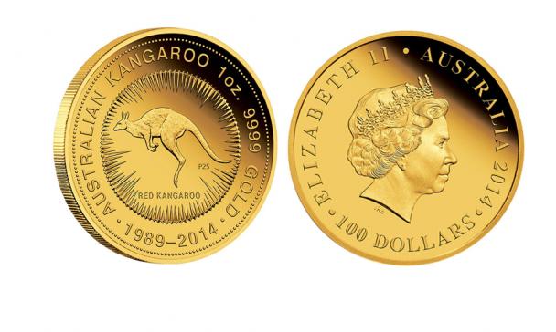 Australian Kangaroo 608x364 Die 5 beliebtesten Gold Anlagemünzen