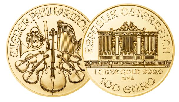 Wiener Philharmoniker Münze 608x347 Die 5 beliebtesten Gold Anlagemünzen