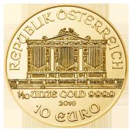 Wiener Philharmoniker 1 10 Unze Gold Wiener Philharmoniker Platin