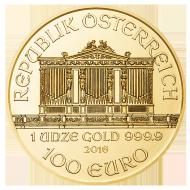 Wiener Philharmoniker 1 Unze Gold Wiener Philharmoniker Platin