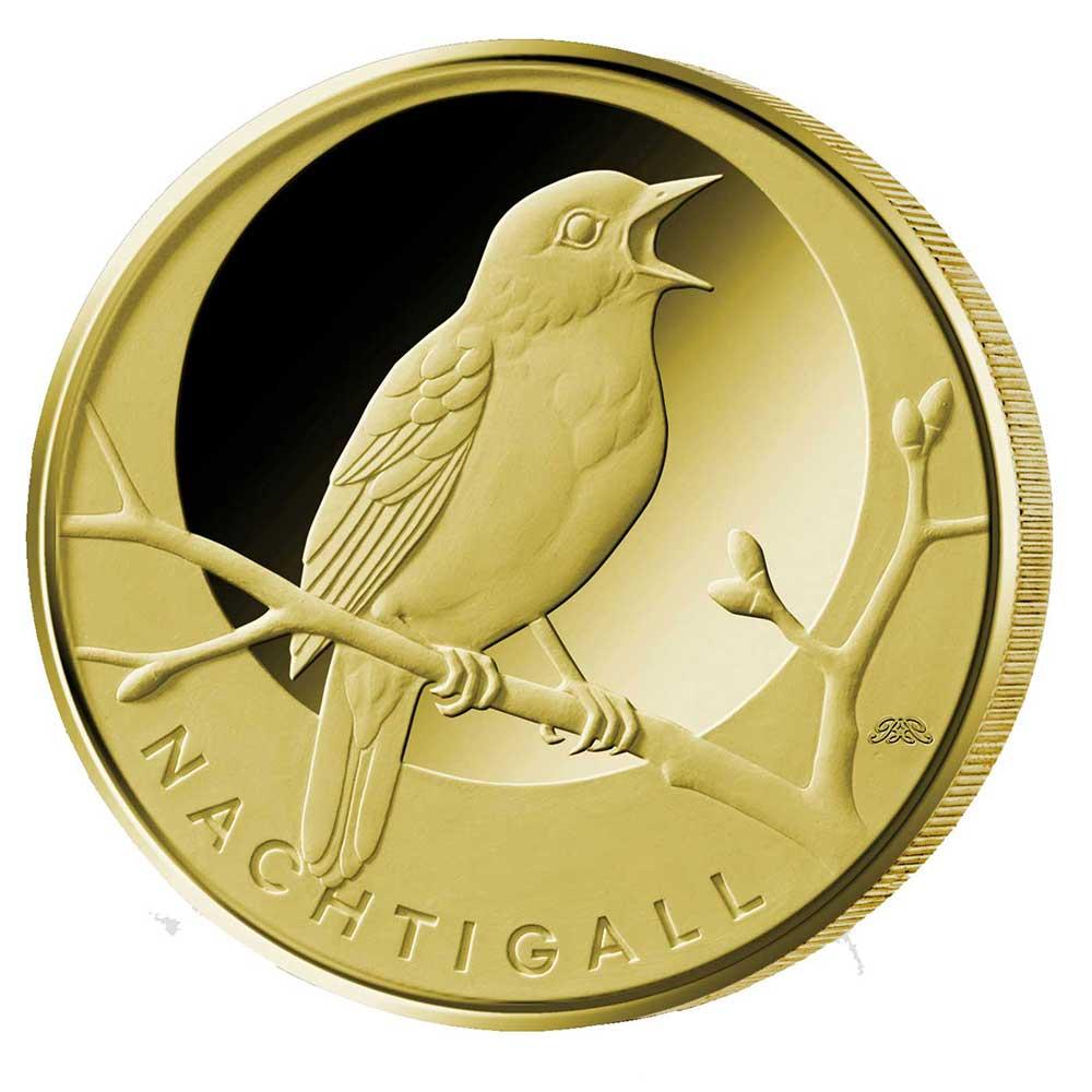 20 Euro Goldmünze Nachtigall