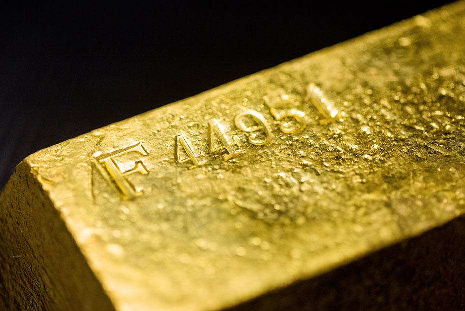 Goldbarren Barrennummer Barrennummer