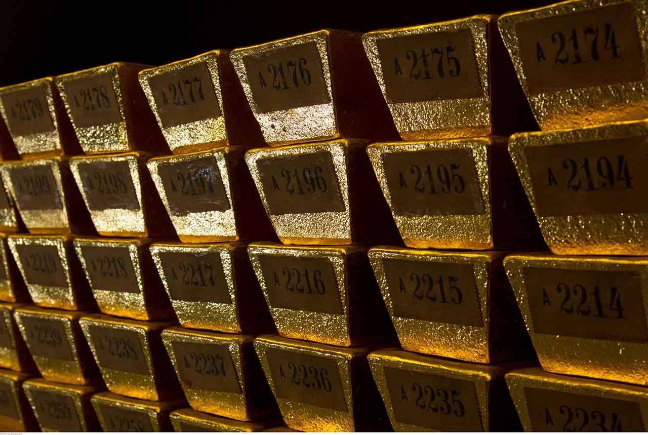 Goldbarren Inventarnummer Inventarnummer