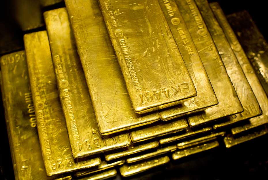 Goldnachfrage Goldbarren Stand der Goldnachfrage 2016